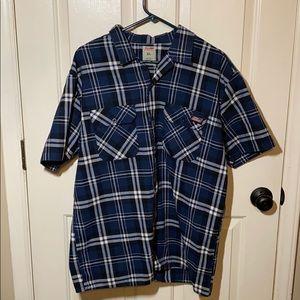 Men's Plaid Dickies Shirt